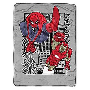 Super Soft Throws - Avengers - Power City New 45x60