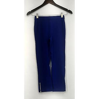 Slimming Options for Kate & Mallory Leggings Crop Length Pull On Blue A417363