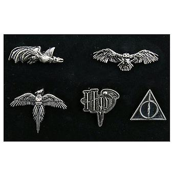 Harry Potter wezens revers speld set