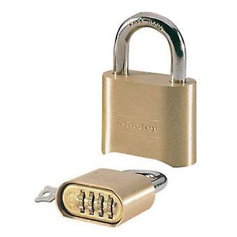 Masterlock Combi hængelås 51mm Reset (DIY, Hardware)