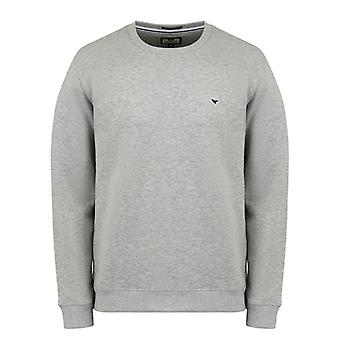 Weekend Offender Sure Shot Sweat - Grey Marl