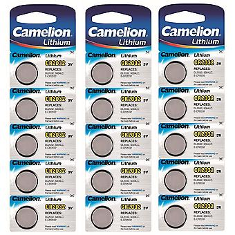 Camelion Lithium Battery CR2032 15-pack