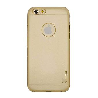 iPhone 6/6s - 4.7 Inch Second Skin Gold - Soft PU Leather