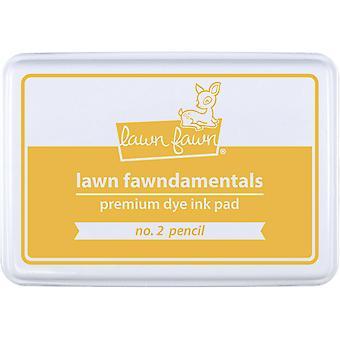 Lawn Fawn Dye Ink Pad - No. 2 Pencil