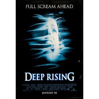 Deep Rising (1998) alkuperäinen elokuva teatteri juliste