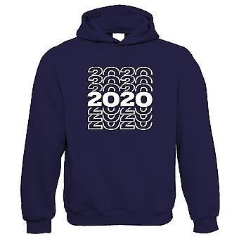2020 Repetir, sudadera con capucha - Año Nuevo regalarlo su cumpleaños