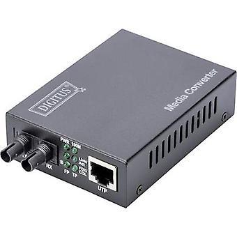 Digitus DN-82010-1 LAN, ST Simplex Netzwerkmedienkonverter 100 Mbit/s
