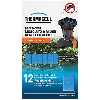 Thermacell Schwarz große 12 Pack Matten