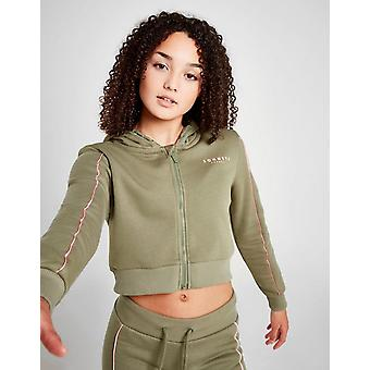 New Sonneti Girls' Amina Zip Through Hoodie Green