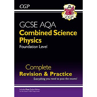 New 91 GCSE Combined Science Physics AQA Foundation Comple