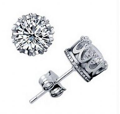 925 silver plated royal earrings