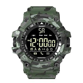 EX16 Plus Sports Waterproof Smartwatch-green camouflage