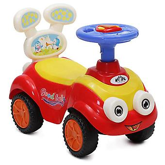 Slipper, children's car Mini Toycar with backrest, music and light function