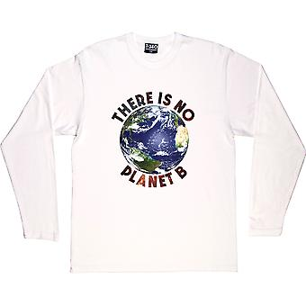 There Is No Planet B (Colour) White Long-Sleeved T-Shirt
