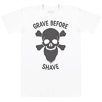 Hauta ennen Shave-Miesten T-paita