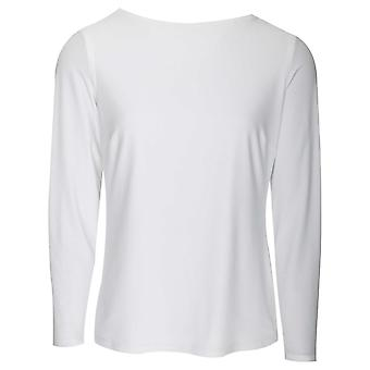 Frank Lyman Long Sleeve Top With Diamante Scoop Back