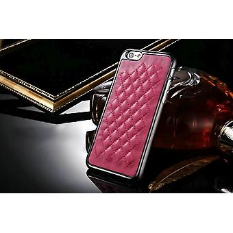 For iPhone 6S,6 Case,Elegant Sheep High-Quality Protective Leather Cover,Magenta