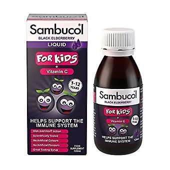 Sambucol Black Elderberry Liquid For Kids + Vitamin C