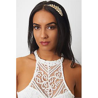 Leaves Diamante Hairband
