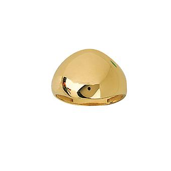 14k Yellow Gold Graduated Dome Ring Jewelry Gifts for Women - Ring Size: 6 to 8