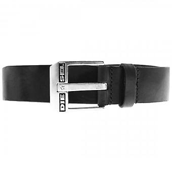 ديزل بلوستار حزام أسود الفضة الفضة مشبك
