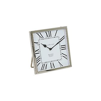 Light & Living Clock 21x21x3cm Kelston Antique White-Nickel