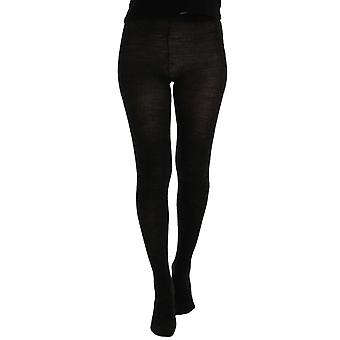 Dolce & Gabbana Gray Wool Blend Stretch Tights