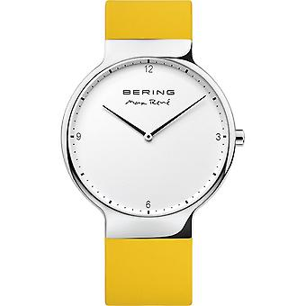 Bering Herren Uhr Armbanduhr Max René  Ultra Slim  - 15540-600 Silikon
