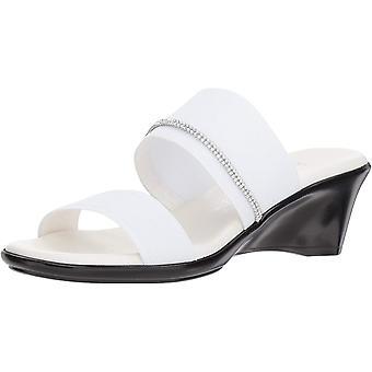 ITALIAN SHOEMAKERS Women's Miami Slide Sandal