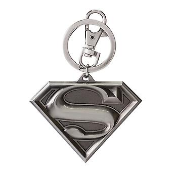 Metal Key Chain - DC Comic - Superman Logo Pewter Gifts Toys New 45063