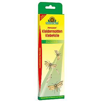 NEUDORFF Permanent® Clothes moth sticking trap, 2 pieces