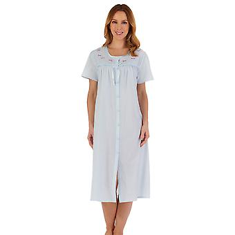 Slenderella ND55202 Women's Embroidered Nightdress