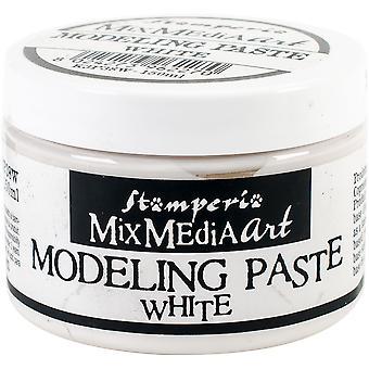 Stamperia Modeling Paste 150ml-Weiß