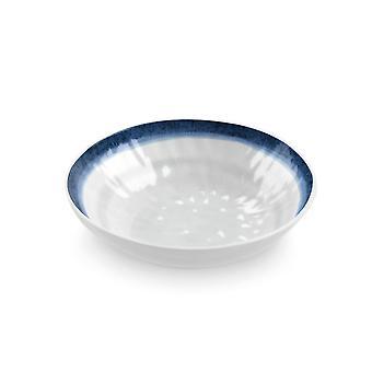 Epicurean Coastal Melamine Low Bowl