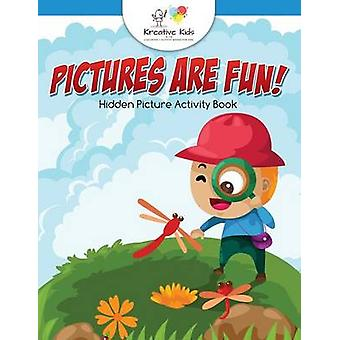 Pictures are Fun Hidden Picture Activity Book by Kreative Kids