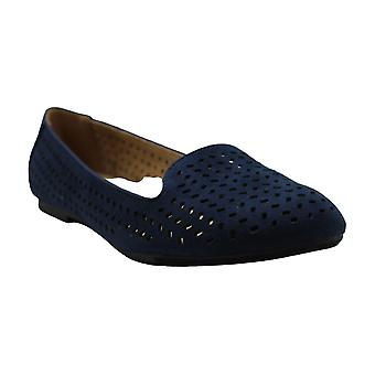 Style & Co. Womens alysonn3 Suede Closed Toe Loafers