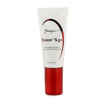 Freeze & go instant smoother & brightener 20ml/0.68oz
