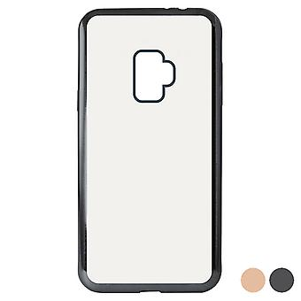 Cubierta móvil Galaxy S9 KSIX Flex Metal/Pink