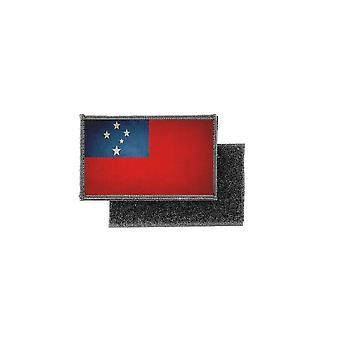 Patch ecusson prints vintage flag samoa badge