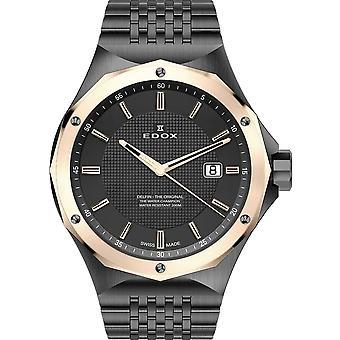 Edox 53005 37GRM GIR Delfin Heren Horloge