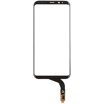 Display, touch screen digitizer, zwart, Galaxy S8 +