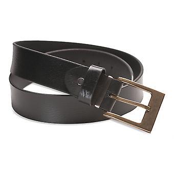 Hawkdale Mens Full Grain Leather Belt - 1.25 Inch Suit / Trouser # 8R-F11-400