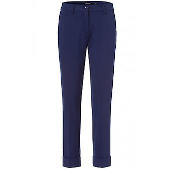 Olsen Blue Lisa Straight Fit Trousers