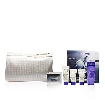Renergie rejsesæt: løftecreme + gel lotion + serum + øjencreme + genifique maske 244637 5stk+1bag