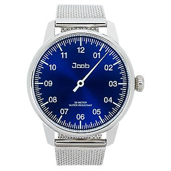 Jcob Einzeiger JCW003-SS01 men's blue watch