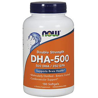 Now Foods Dha 500 Double Strength 180 Capsules
