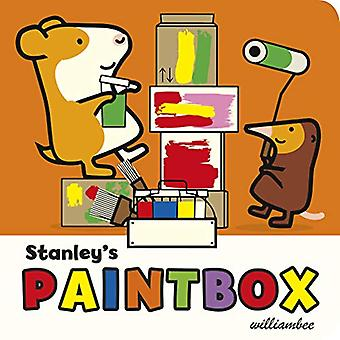 Stanley's Paintbox by William Bee - 9781780080543 Book
