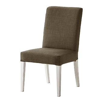 Sand Replacement Slip Cover for Henriksdal Dining Chairs in Linen Effect Fabric