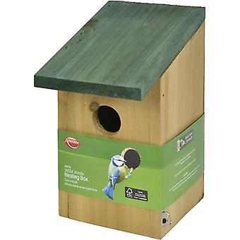 Nagykövet vadon élő madarak fészkelő Box