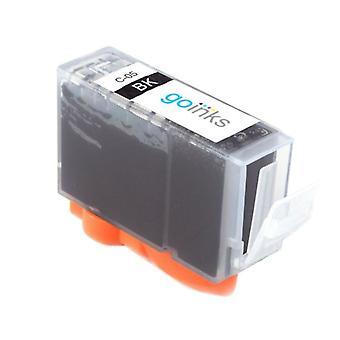 1 Cartucho de tinta preta para substituir Canon PGI-5Bk Compatível/não-OEM de Go Inks